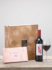 Red Wine & Salted Caramel Truffles Gift Set