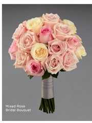 Mixed Rose Bridal Bouquet